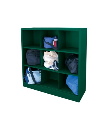 9 Compartments - Forest Green