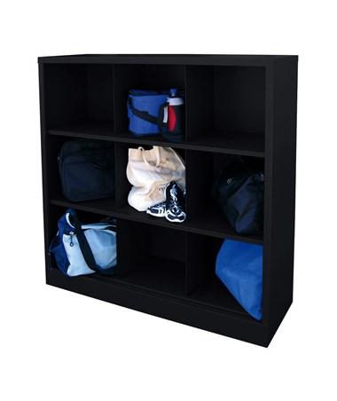 9 Compartments - Black