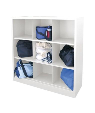 9 Compartments - White