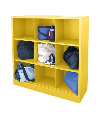 9 Compartments - Yellow