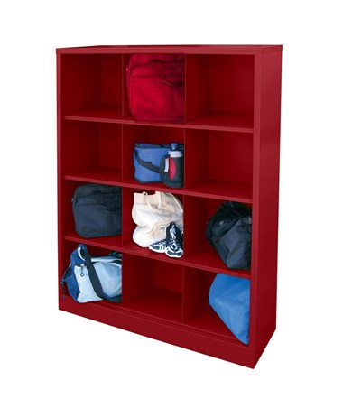 12 Compartments - Red