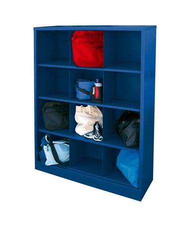 12 Compartments - Blue