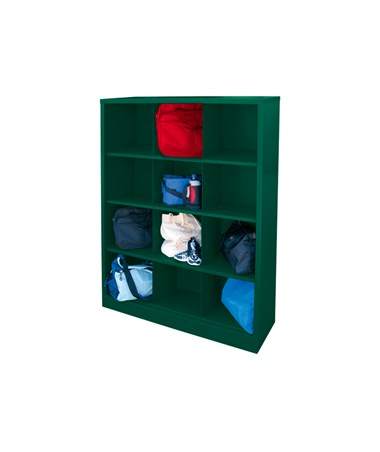 12 Compartments - Forest Green