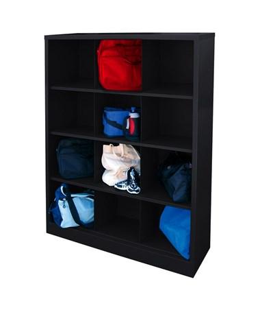 12 Compartments - Black