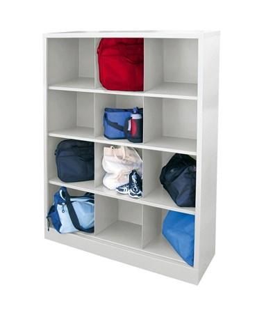 12 Compartments - White