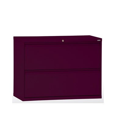 Two Drawers - Burgundy