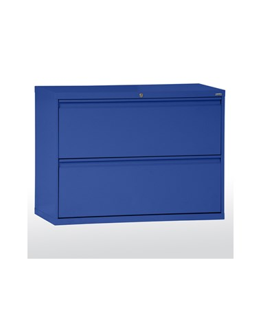 Two Drawers - Blue