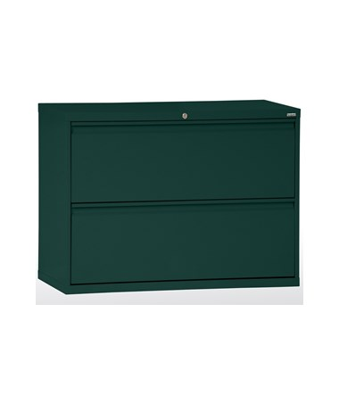 Two Drawers - Forest Green