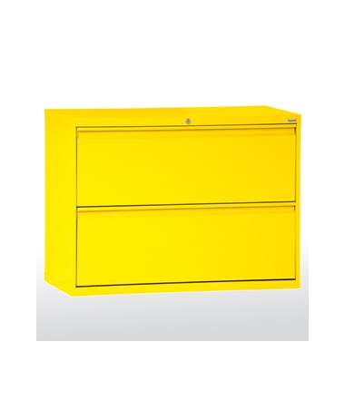 Two Drawers - Yellow