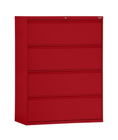 Four Drawers - Red