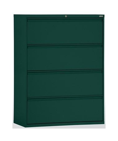 Four Drawers - Forest Green