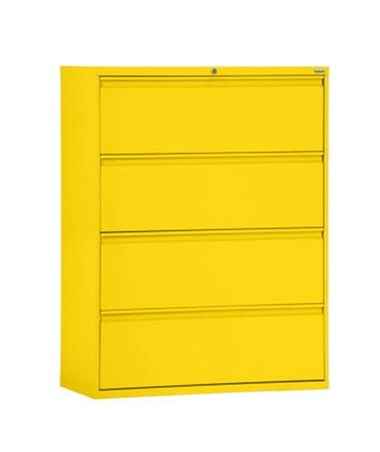 Four Drawers - Yellow