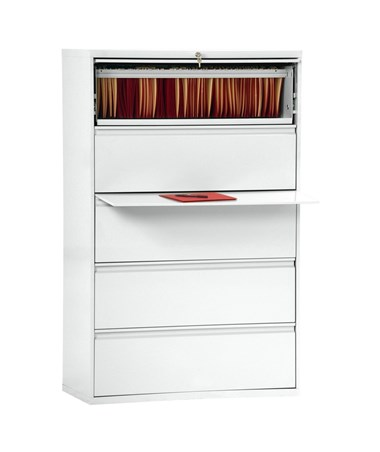 Five Drawers - White