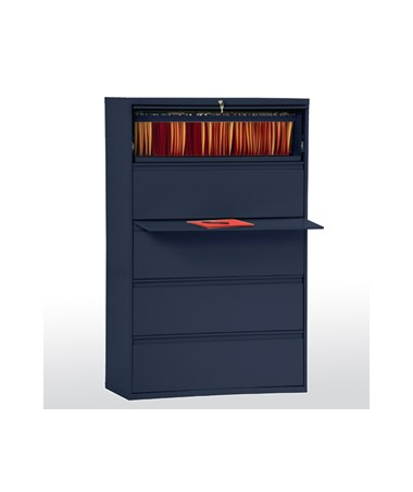 Five Drawers - Navy Blue