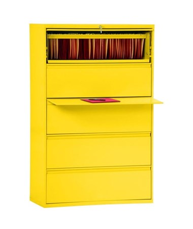 Five Drawers - Yellow