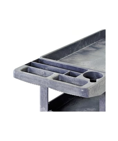 Push Handle with Mold-In Tray