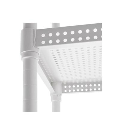 Perforated Iron Shelf