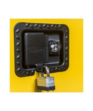 Keyed Lock and Padlock Hasp