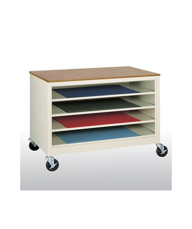 Open Paper Storage Shelves SANTP30-462430-07K