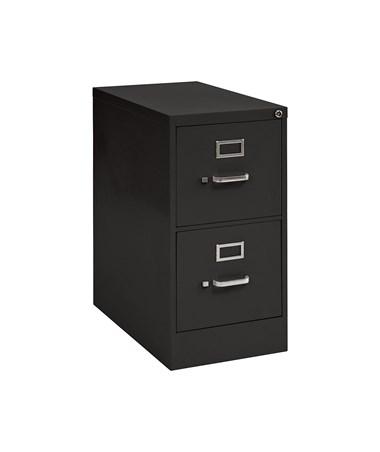 2 Drawers - Black