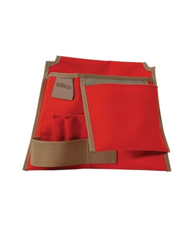Seco Construction-Style Tool Pouch with Rhinotek Lining SEC8046-20-ORG