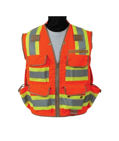 Seco Safety Utility Vest SEC8265-50-XXX