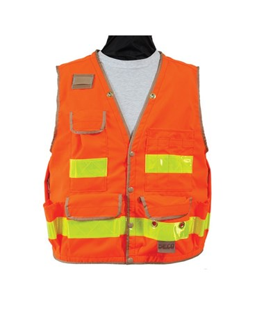 Seco 8068-Series Class 2 Lightweight Safety Utility Vest SECO8068