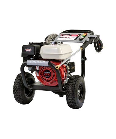 Simpson PS3425-S Powershot Commercial Power Washer with Honda GX200