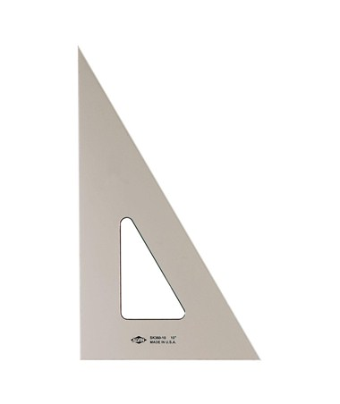 ALVIN Smoke-Tint Triangles 30/60 14 SK360-1400