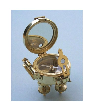 Brass Stand Surveying Compass SLBSSC