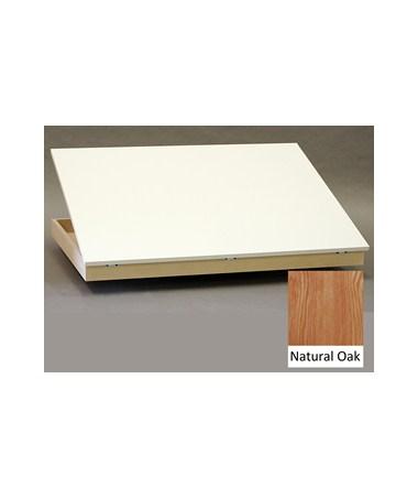 SMI Oak Tilt Top for 30 x 42 Plan File F3042 TT
