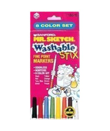 SANFORD® Mr. Sketch® Washable Markers SN018