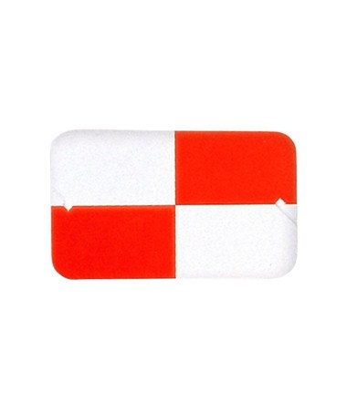 812620 Sokkia Red and White Plastic Target