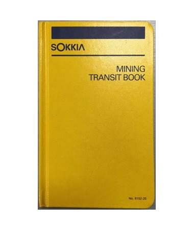 Sokkia 815220 Mining Transit Book (4-1/2 x 7-1/4 in.) SOK815220
