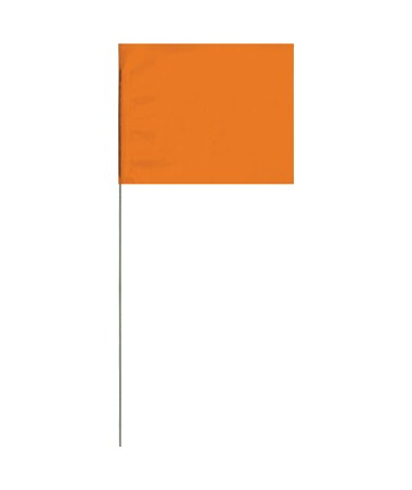 "Sokkia Large Stake Flags 30"" 4"" x 5"" 100/Bundles SokFlags"
