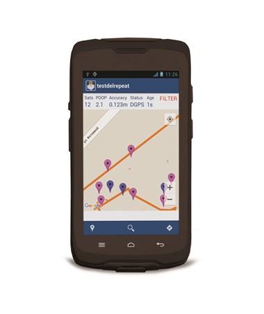 Spectra MobileMapper 50 GIS GPS Receiver SPE107705