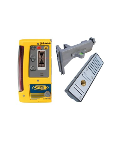 Spectra CR600 Laser Detector, C50 Rod Clamp and C51 Magnetic Mount