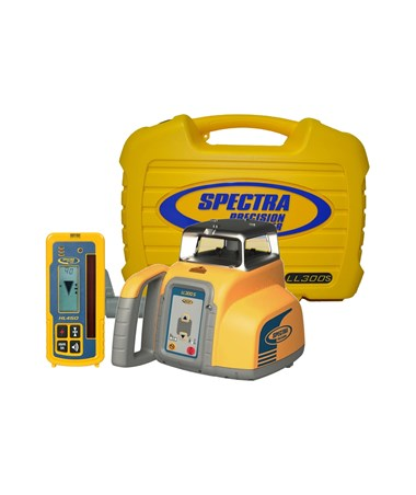 Spectra LL300S Self Leveling Laser with HL450 Receiver