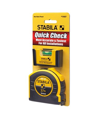 Stabila QUICK CHECK POCKET PRO PLUS 27' TAPE STA11927