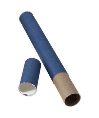 Alvin Blue Fiberboard Mailing Tube 2 ALVT413-25