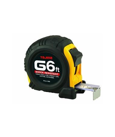 Tajima G-Series Standard Scale Shock Resistant Tape Measures TAJG-6BW-