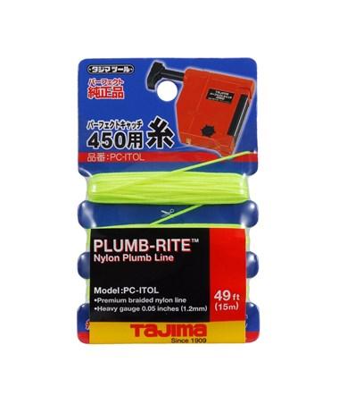 Tajima Plumb-Rite® Braided Plumb Line, nylon / polyester, 15 m / 49 ft. TAJPC-ITOL