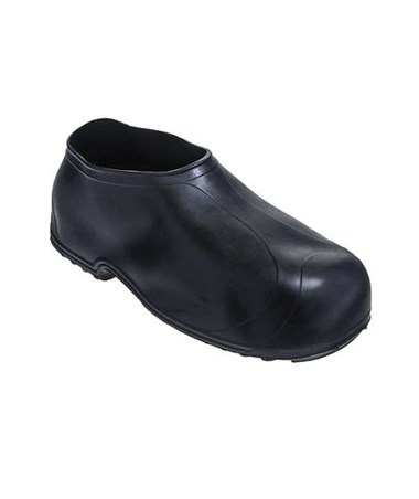 STRETCH RUBBER OVERSHOES Hi-Top Work Rubber - Black TIN1300
