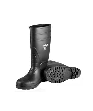 Plain Toe PVC Knee Boots 31151