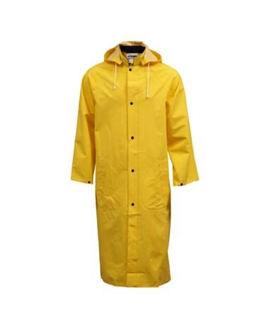 "Yellow Coat - 48"" - Slash Pockets - Hood Snaps - Includes Detachable TINC53217"