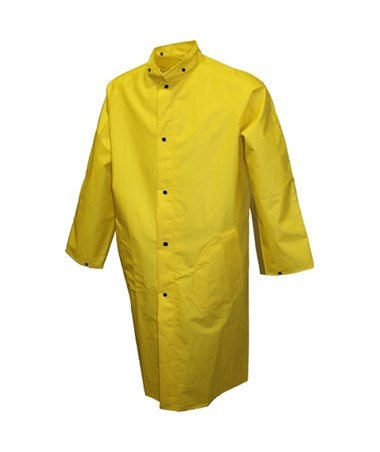 48 Inches Flame Resistant Yellow Coat TINC56207