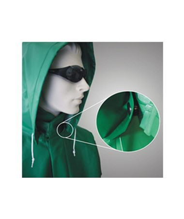 ACID SUIT - Green Detachable Hood TINH41108