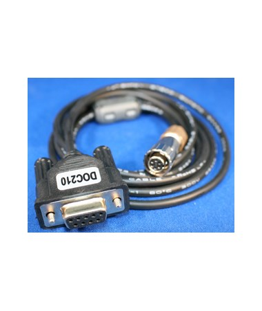 Sokkia DOC210E RS232C Cable, DB9 to CX/FX/SX TOP1001550-01-SURSK