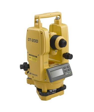 Topcon DT209 9 Second Digital Theodolite TOP60214
