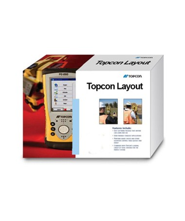 Topcon Layout Field Software TOP99-090001-01